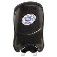 Dial Professional Duo Manual Soap Dispenser, 7 1/4 x 3 7/8 x 11 3/4, 1250 mL, Smoke (DIA 05028)