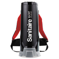 Sanitaire Quiet Clean HEPA Backpack Vac,10qt, Black (EUR 535)