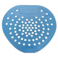 """Health Gards Urinal Screen, 7 3/4""""w x 6 7/8""""h, Blue, Mint, Dozen (HOS 03904)"""