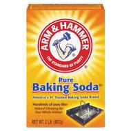 Arm & Hammer Baking Soda, 2lb Box, 12/Carton (CDC 33200-01140)