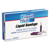 PhysiciansCare by First Aid Only Liquid Bandage, 0.017 oz Pipette, 4/Box (ACM90447)