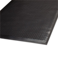 Guardian Clean Step Outdoor Rubber Scraper Mat, Polypropylene, 36 x 60, Black (MLL14030500)