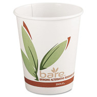 SOLO Cup Company Bare Eco-Forward Recycled Content PCF Hot Cups, 8 oz, 1,000/Carton (SCC 378RC)