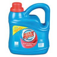 Ajax Dual Action Clean Liquid Laundry Detergent, Fresh Scent, 134oz Bottle, 4/Ctn (PBC49276CT)