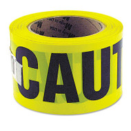 "Great Neck Caution Safety Tape, Non-Adhesive, 3"" x 1000 ft (GNS10379)"