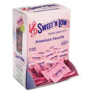 Sweet'N Low Zero Calorie Sweetener, 1 g Packet, 400 Packet/Box, 4 Box/Carton (SMU50150CT)