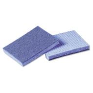 Scotch-Brite Soft Scour Scrub Sponge, 3 1/2 x 5 in, Blue, 40/Carton (MMM9489)