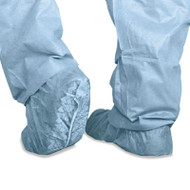 Medline Polypropylene Non-Skid Shoe Covers, Large, Blue, 100/Box (MIICRI2002)