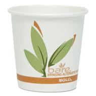 SOLO Cup Company Bare Eco-Forward PCF Paper Hot Cups, 10 oz, 1,000/Carton (SCC410RC)