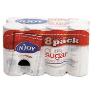 N'Joy Pure Sugar Cane, 22 oz Canisters, 8 per Carton (NJO827820)