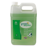 Green Works Manual Pot & Pan Dish Liquid, Original, 1gal Bottle (CLO30388CT)