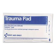 "First Aid Only Trauma Pad, 5"" x 9"" (FAO5012)"