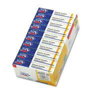 First Aid Only Antiseptic Wipe Refill for ANSI-Compliant First Aid Kits/Cabinets, 100/Pack (FAOAN337)
