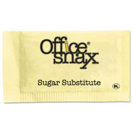 Office Snax Yellow Sweetener, 2000 Packets/Carton (OFX00062)