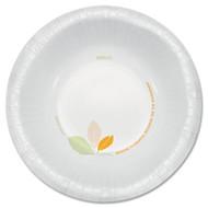 SOLO Cup Company Bare Paper Eco-Forward Dinnerware, 12oz Bowl, Green/Tan, 500/Carton (SCCOFHW12J7234)