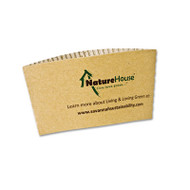 NatureHouse Hot Cup Sleeves, Fits 8oz Cups, 50/Pack (SVAS01)