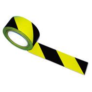 Tatco Hazard Marking Aisle Tape, 2w x 108ft Roll (TCO14711)