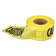 "Empire Caution Barricade Tape, 3"" x 1000ft, Yellow/Black (EML711001)"