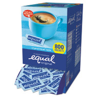 Equal Zero Calorie Sweetener, 0.035 oz Packet, 800/Box (EQL885328)