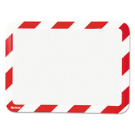 Tarifold, Inc. High Visibility Safety Frame Display Pocket-Magnet Back, 10 1/4 x 14 1/2, Red/WH (TFIP194943)