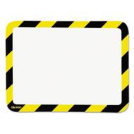 Tarifold, Inc. High Visibility Safety Frame Display Pocket-Magnet Back, 10 1/4 x 14 1/2, YW/BK (TFIP194944)
