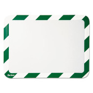 Tarifold, Inc. High Visibility Safety Frame Display Pocket-Magnet Back, 10 1/4 x 14 1/2, GN/WH (TFIP194945)