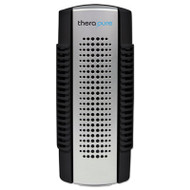 Therapure Mini Plug-In Collection Blade Air Purifier, One Speed, Black/Silver (IONTPP50BLK)