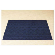 Office Settings Placemats, 17 x 12, Blue, 12/Box (OSIVPMBL)