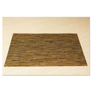 Office Settings Placemats, 17 x 12, Camel, 12/Box (OSIVPMCM)