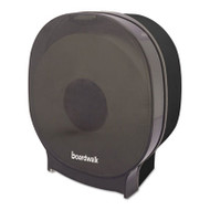 Boardwalk Single JBT Toilet Tissue Dispenser, One Jumbo Roll, Smoke Black,5.562x10x11 7/8 (BWKJT109SBBW)