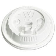 WinCup Plastic Lids for 12,16,20,24 oz Foam Cups, Reclose Sip-Thru, ID, White, 1000/Ctn (WCPDLB18)