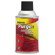 Enforcer Purge I Metered Flying Insect Killer, 7.3 oz Aerosol, Unscented, 12/Carton (AMR1047728)