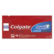 Colgate Cavity Protection Toothpaste, Regular Flavor, 0.15 oz Tube, 1000/Carton (CPC50130)
