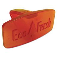 Boardwalk Eco-Fresh Bowl Clip, Mango Scent, Orange, 12/Box (BWKCLIPMAN)