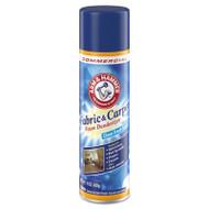 Arm & Hammer Fabric and Carpet Foam Deodorizer, Fresh Scent, 15 oz Aerosol, 8/Carton (CDC3320000514CT)