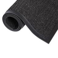 Crown Super-Soaker Wiper Mat w/Gripper Bottom, Polypropylene, 24 x 36, Charcoal (CWNSSR023CH)