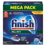 FINISH Powerball Dishwasher Tabs, Fresh Scent, 90/Box (FSH89729)