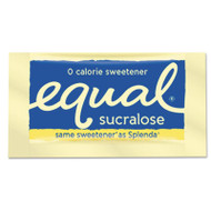 Equal Zero Calorie Sweetener, 0.035 oz Packet, 100/Box, 12 Box/Carton (EQL90077)