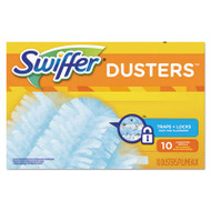 Swiffer Refill Dusters, Dust Lock Fiber, Light Blue, Unscented, 10/Box, 4 Box/Carton (PGC21459CT)