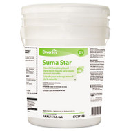 Suma Suma Star D1 Hand Dishwashing Detergent, Unscented, 5 Gallon Pail (DVO957227100)