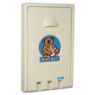 Koala Kare Standard Recessed Vertical Baby Changing Station, Cream (KKPKB10100)