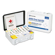 First Aid Only Unitized ANSI Compliant Class A Type III First Aid Kit for 25 People, 84 Pieces (FAO90568)