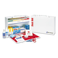 First Aid Only ANSI Compliant Class B+Type I & II Industrial First Aid Kit/75 People,437 Pieces (FAO90573)