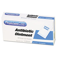 PhysiciansCare by First Aid Only First Aid Kit Refill Triple Antibiotic Ointment, 10/Box (FAO12001)