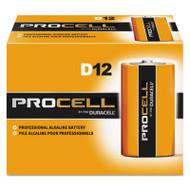 Duracell Procell Alkaline Batteries, D, 12/Box (DURPC1300)