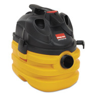 Shop-Vac Heavy-Duty Portable Wet/Dry Vacuum, 5gal Capacity, 17lb, Black/Yellow (SHO5872810)