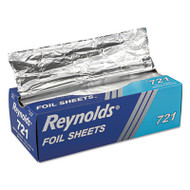 Reynolds Wrap Pop-Up Interfolded Aluminum Foil Sheets, 12 x 10 3/4, Silver, 500/Box (RFP721BX)