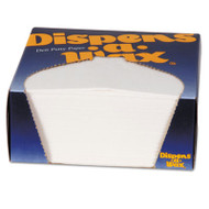 Dixie Dispens-A-Wax Waxed Deli Patty Paper, 4 3/4 x 5, White, 1000/Box (DXE434BX)