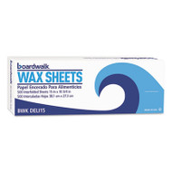 "Boardwalk Interfold-Sheet Deli Paper, 15"" x 10 3/4"", White, 500 Sheets/Box (BWKDELI15BX)"