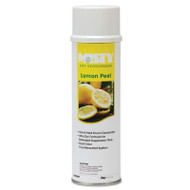 Misty Handheld Air Sanitizer/Deodorizer, Lemon Peel, 10oz Aerosol, 12/Carton (AMR1001842)